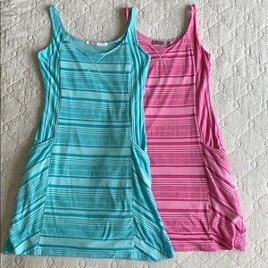 Two Athleta Dresses - size XS